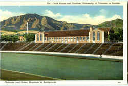 Field House And Stadium, University Of Colorado