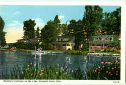 Beatley's Cottages On The Lake Postcard