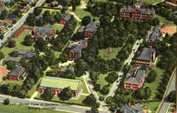 Aerial View Of Spelman College