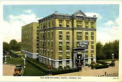 The New National Hotel, 217 North Jefferson Avenue