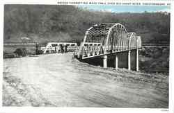 Bridge Connecting Mayo Trail Over Big Sandy River