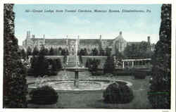 Grand Lodge From Formal Gardens