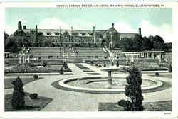Formal Garden And Grand Lodge