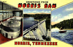 Greetings From Norris Dam