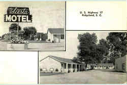 The Siesta Motel, U. S. Highway 17
