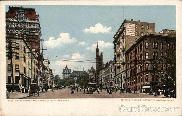 State Street and Capitol Albany New York