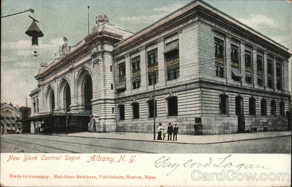 New York Central Depot Albany