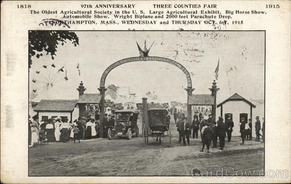 97th Anniversary - Three Counties Fair Northampton Massachusetts