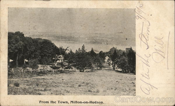 From the Town Milton on Hudson New York