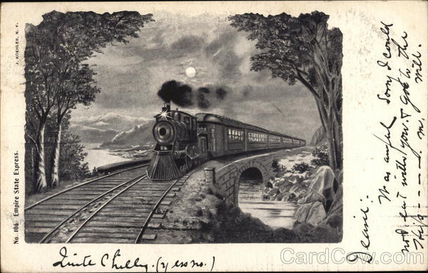 Empire State Express Trains, Railroad