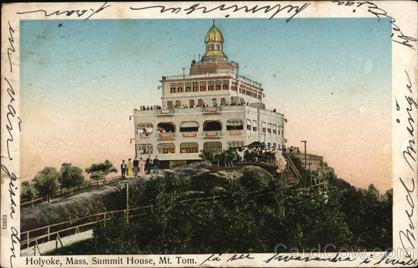 Summit House, Mt. Tom Holyoke Massachusetts