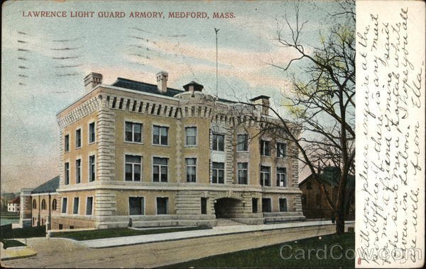 Lawrence Light Guard Armory Medford Massachusetts