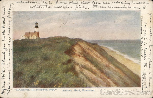 Sankoty Head Nantucket Massachusetts