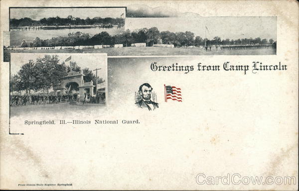 Greetings from Camp Lincoln Springfield Illinois
