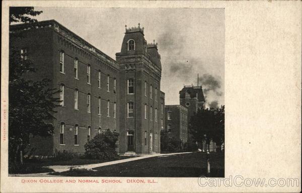 Dixon (IL) United States  City pictures : Dixon IL College and Normal School Kropp Illinois E C Kropp Co | eBay