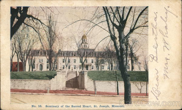 Seminary of the Sacret Heart St. Joseph Missouri