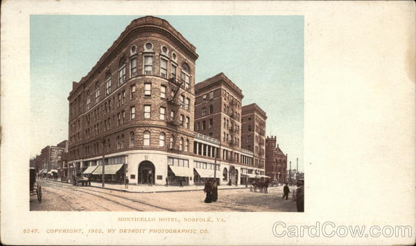 Monticello Hotel Norfolk Virginia