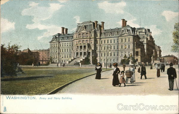 Army and Navy Building Washington District of Columbia