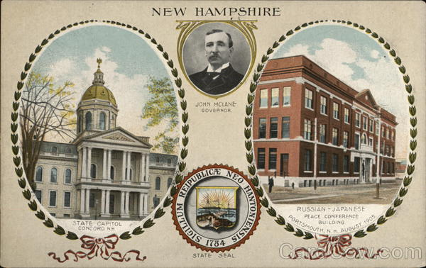 New Hampshire - John McLane, Governor Concord