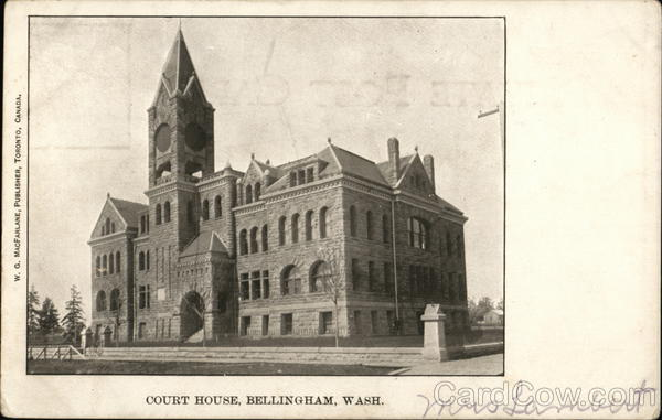 Court House Bellingham Washington