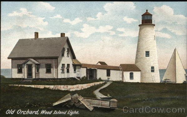 Wood Island Light Old Orchard Beach Maine