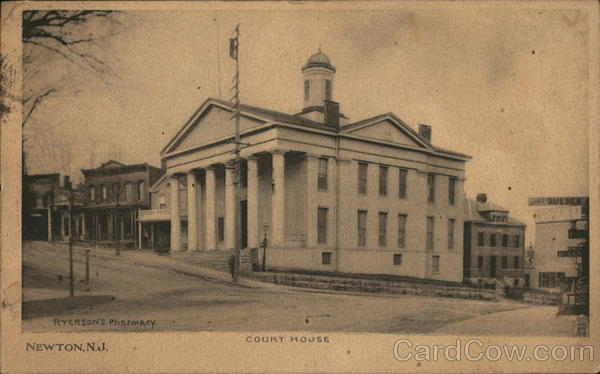 Court House Newton New Jersey