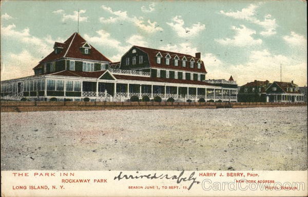 The Park Inn, Rockaway Park Long Island New York