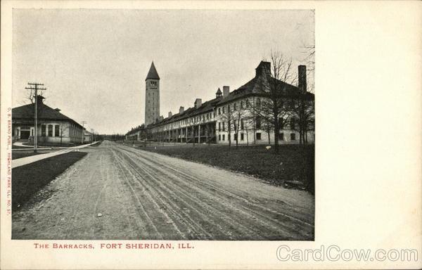 The Barracks Fort Sheridan Illinois