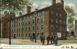 Yale University - Old South Middle Postcard