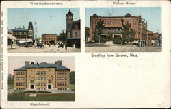 West Gardner Square, Windsor House, High School