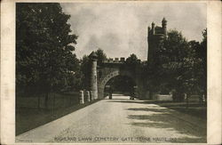Highland Lawn Cemetery Gate