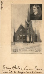 Zion's Reformed Church & Pastor, Rev. C.A. Waltham