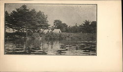 Lake Wickaboag Postcard