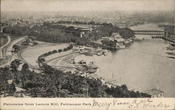 Panorama From Lemon Hill, Fairmount Park
