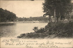 Lake Mahopac and Fairy Island