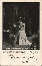 Hackett and Mannering in 'The Walls of Jericho' - Savoy Theatre