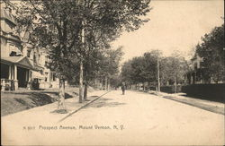 Looking Along Prospect Avenue