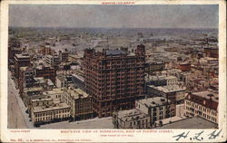 Bird's Eye View of East Fourth Street, Guarantee Loan Building