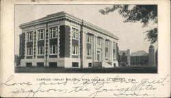 Carnegie Library Building, Iowa College