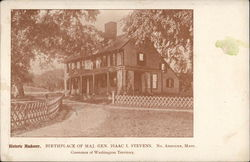 Birthplace of Maj. Gen. Isaac I. Stevens, Governor of Washington Territory