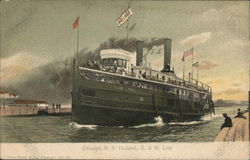 S.S. Holland, G.& M. Line, Chihcago