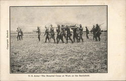 U.S. Army - The Hospital Corps at Work on the Battlefield