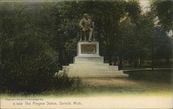 The Pingree Statue