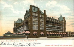 View of Hotel Chamberlain Postcard