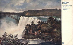 The American Falls and Suspension Bridge