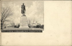 Scott Statue. U.S. Soldiers' Home