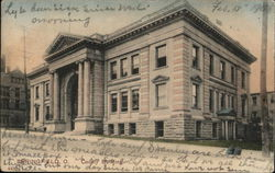 County Building Postcard