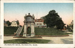 View of Plymouth Rock