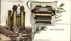 Great Organ Mormon Tabernacle, Key Board, Great Organ
