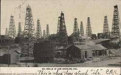 View of Oil Wells